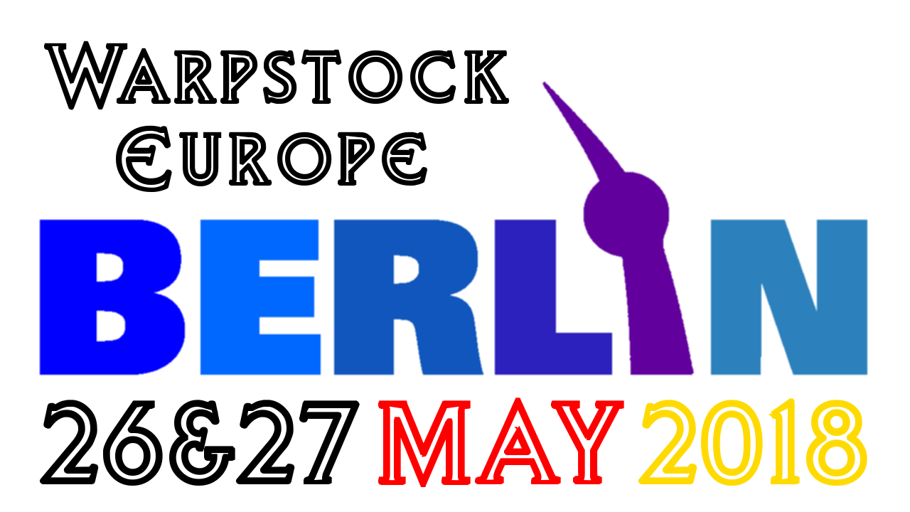 Warpstock Berlin 2018